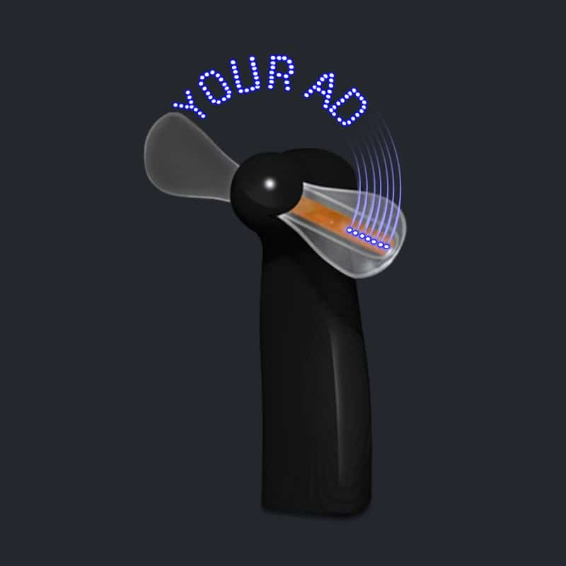 Battery Hand Held Fan